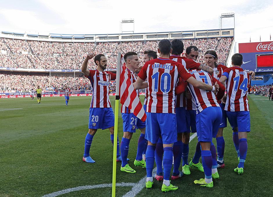 Temp. 16/17 | Atlético de Madrid - Sevilla | Celebración