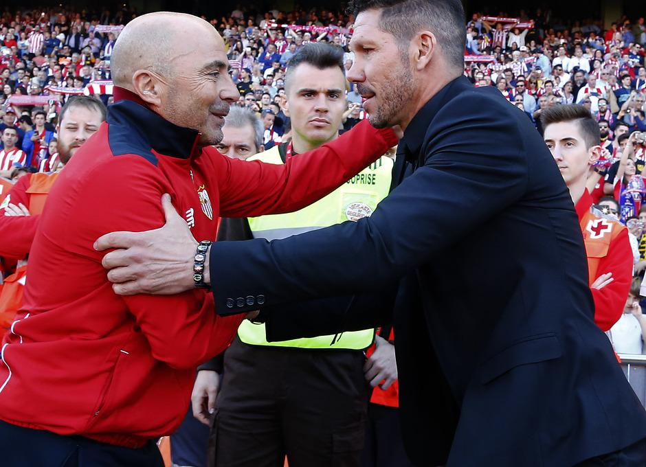 Temp. 16/17 | Atlético de Madrid - Sevilla | Simeone y Sampaoli