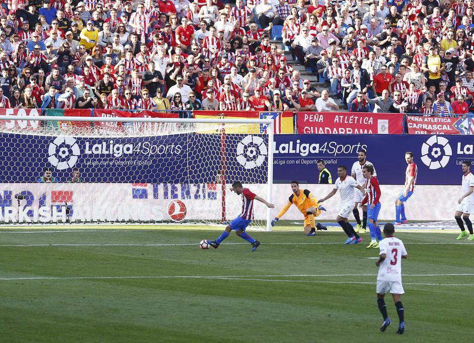 Temp. 16/17 | Atlético de Madrid - Sevilla | Koke