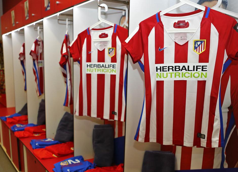Liga Iberdrola | Atlético de Madrid Femenino - Athletic Club | Vestuario