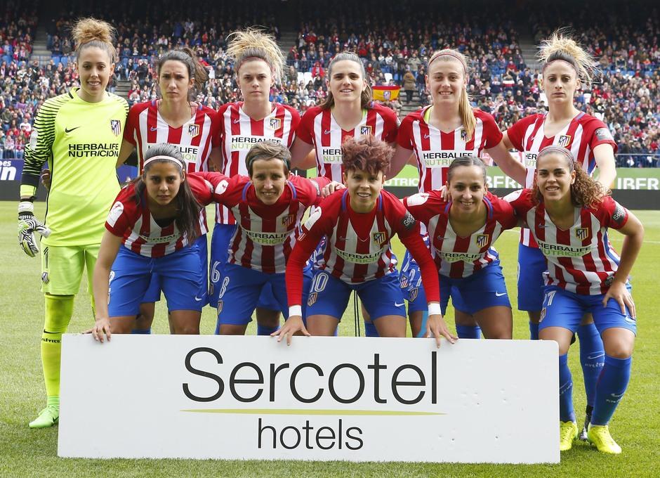 Liga Iberdrola | Atlético de Madrid Femenino - Athletic Club | Once
