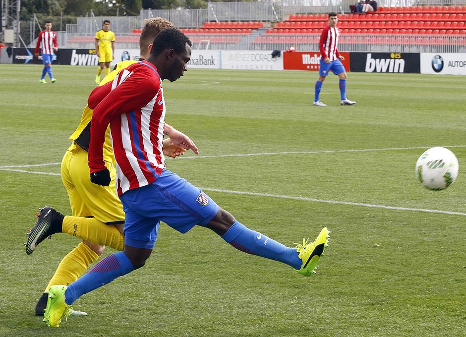 Temp. 16/17 | Atlético de Madrid B - Villanueva del Pardillo | Arona