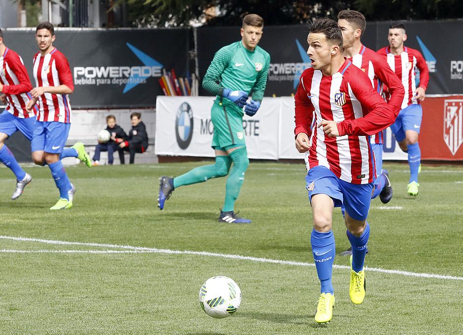 Temp. 16/17 | Atlético de Madrid B - Villanueva del Pardillo | Kilian Durán