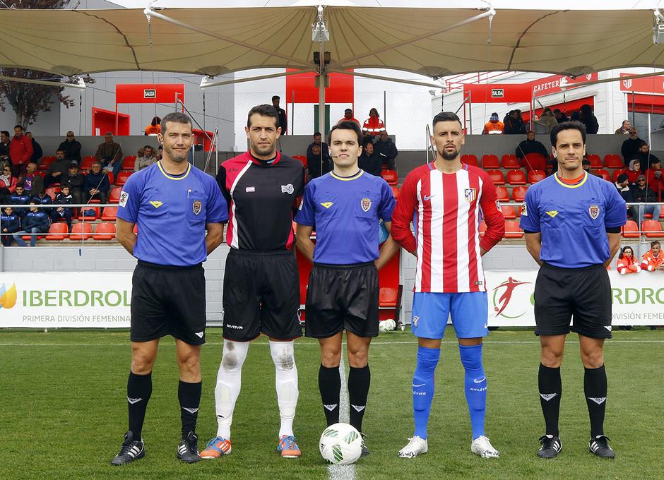 Temp. 16/17 | Atlético de Madrid B - Villanueva del Pardillo | Capitanes