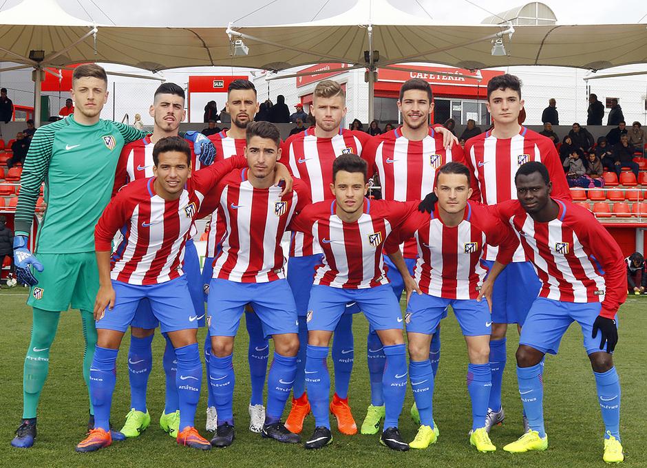 Temp. 16/17 | Atlético de Madrid B - Villanueva del Pardillo | Once titular