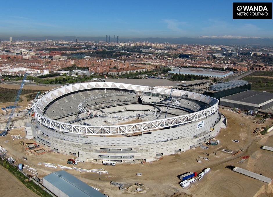 Wanda Metropolitano - 31/03/2017