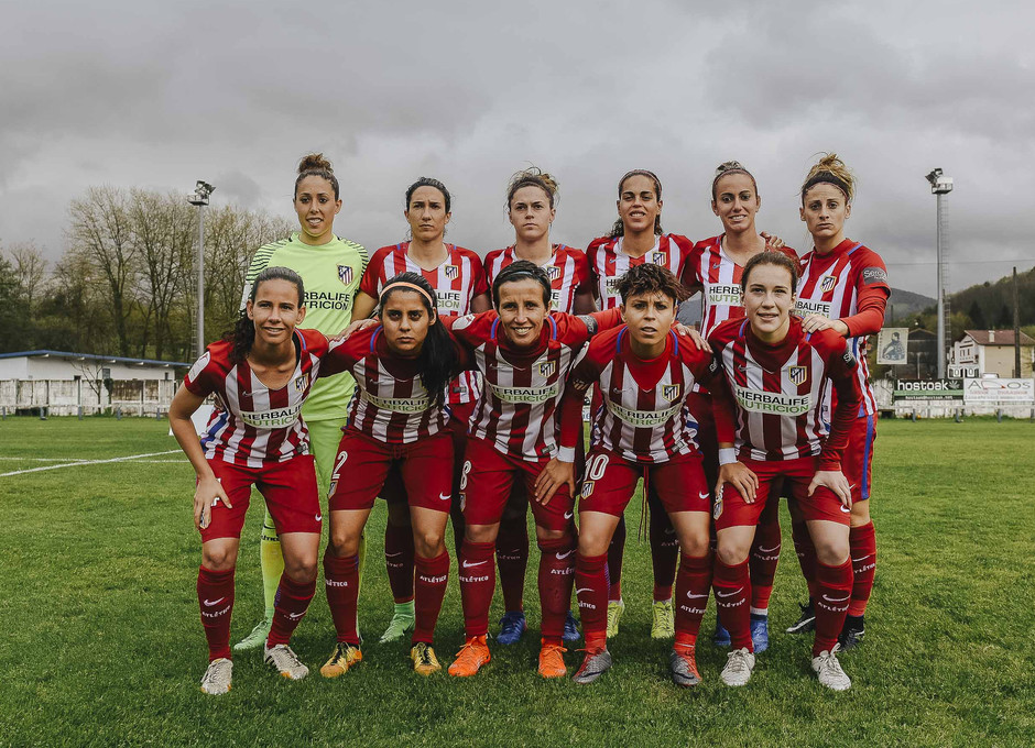 Liga Iberdrola | Oiartzun - Atlético de Madrid Femenino | Once