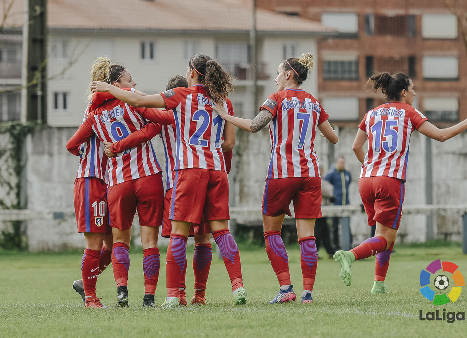 Liga Iberdrola | Oiartzun - Atlético de Madrid Femenino | Celebración