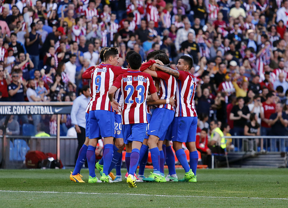 Temp. 16/17 | Atlético de Madrid - Osasuna | Celebración