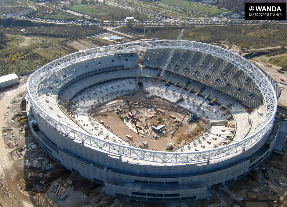 Imágenes aéreas - Wanda Metropolitano