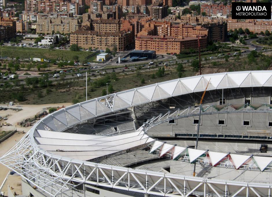 Wanda Metropolitano. 26 de abril de 2017.
