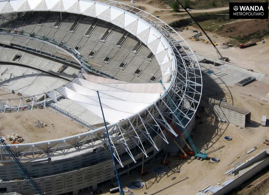 Wanda Metropolitano. 26 de abriltar de 2017.