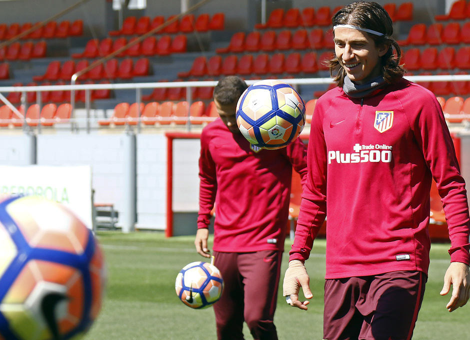 Entrenamiento 27/04/2017 | Ciudad Deportiva Wanda | Filipe