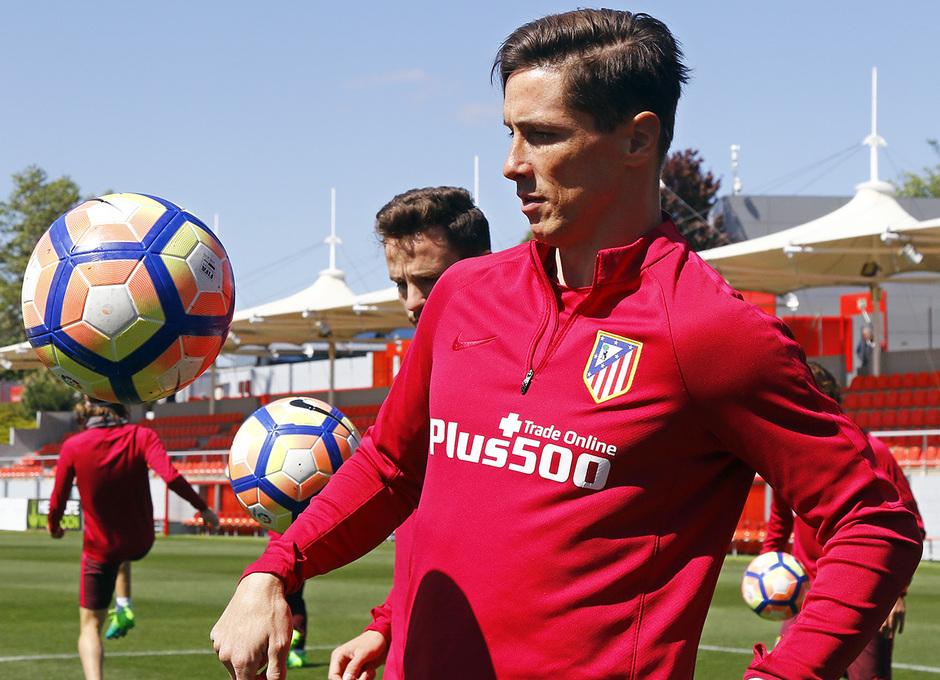 Entrenamiento 27/04/2017 | Ciudad Deportiva Wanda | Torres