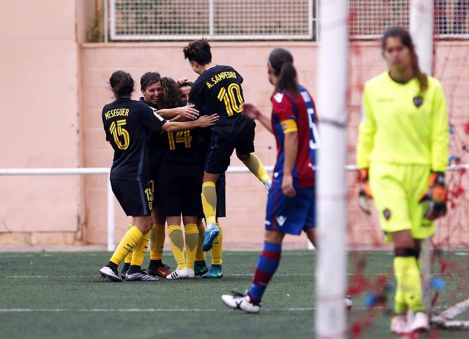 Liga Iberdrola | Levante - Atlético de Madrid Femenino | Celebración