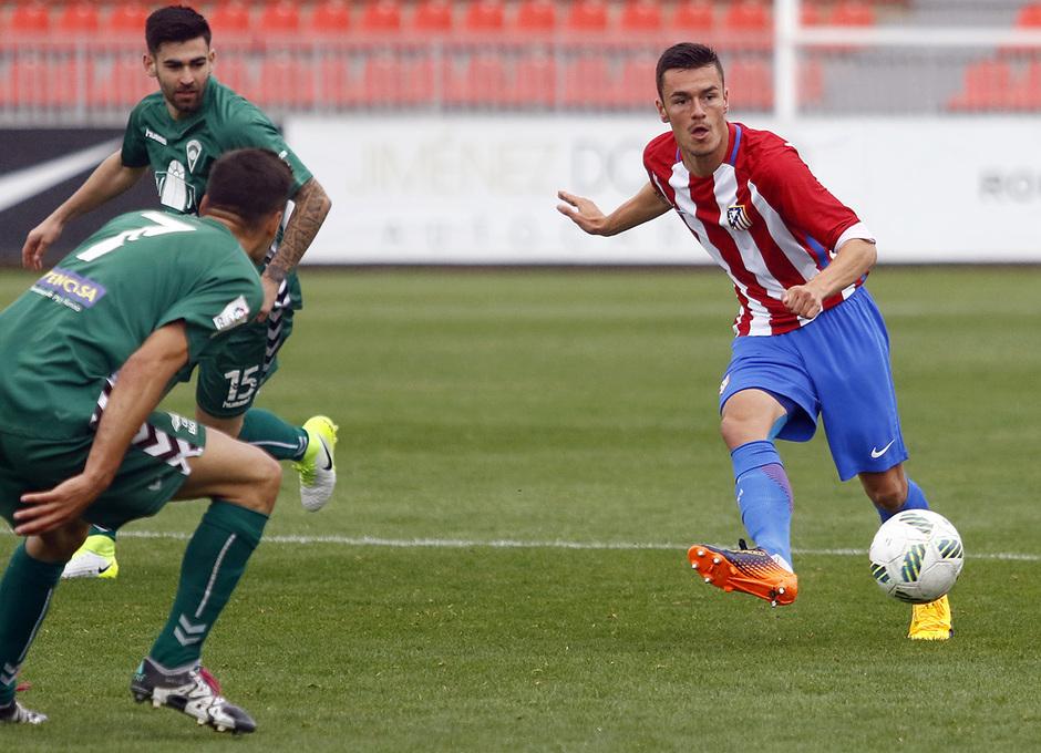 Temporada 16/17 | Atlético B - Villaverde | Nacho Heras
