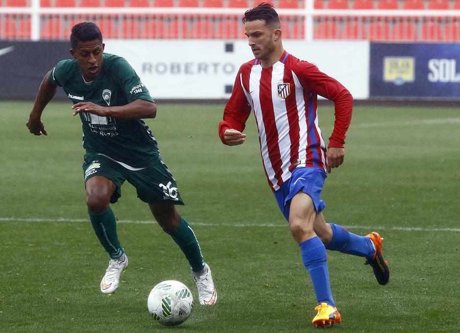 Temporada 16/17 | Atlético B - Villaverde | Kilian