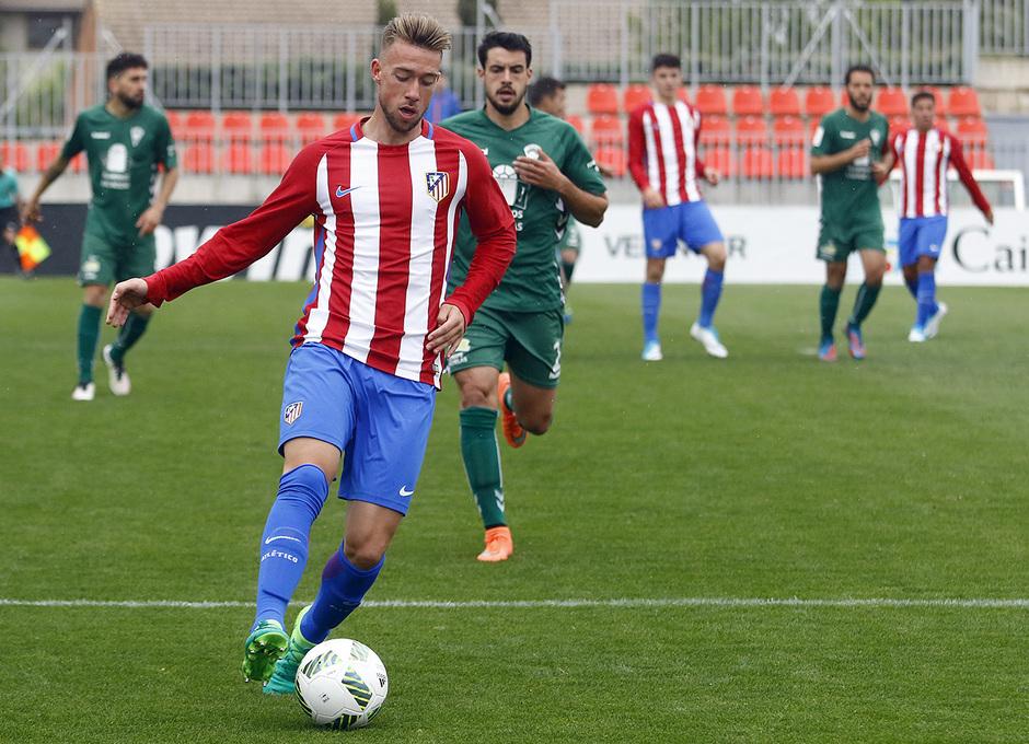 Temporada 16/17 | Atlético B - Villaverde | Rober