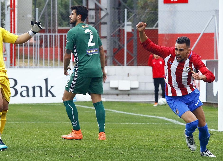 Temporada 16/17 | Atlético B - Villaverde | Rafa