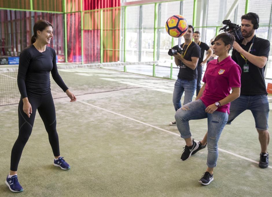 Temp. 2016/2017. Jugadoras Femenino en el Madrid Mutua Open