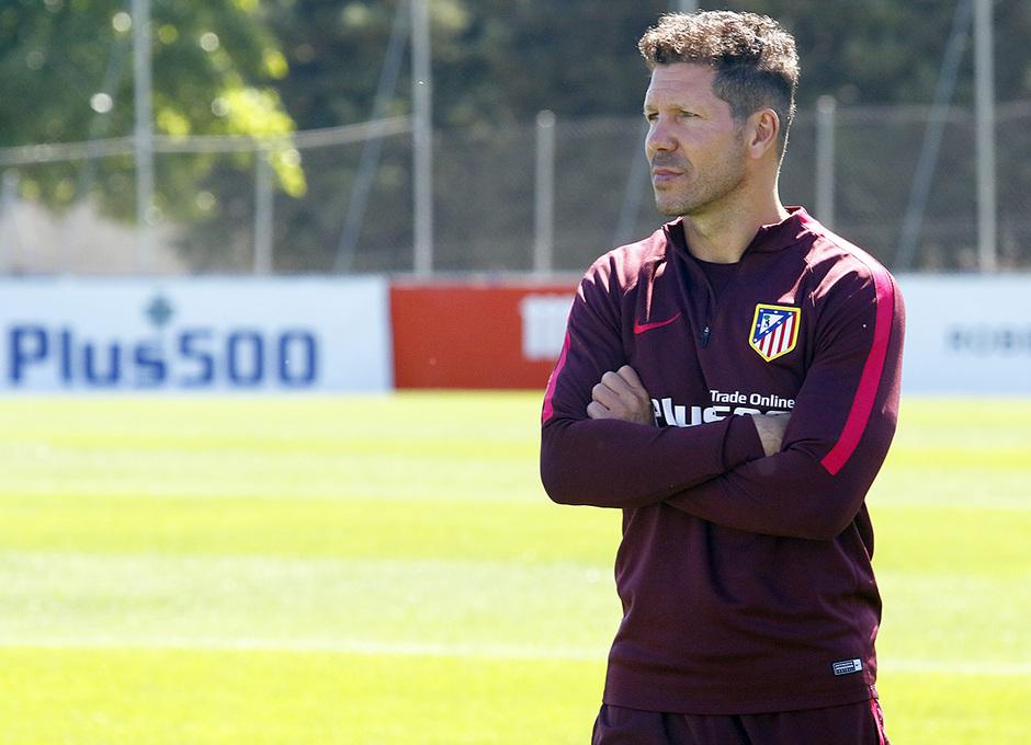 Temporada 16/17 | 07/05/2017 | Entrenamiento en la Ciudad Deportiva Wanda | Simeone