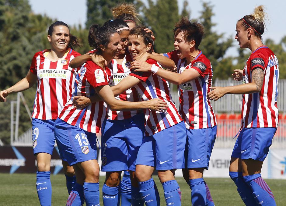 Temp. 16/17 | Atlético de Madrid Femenino - Granadilla | Celebración