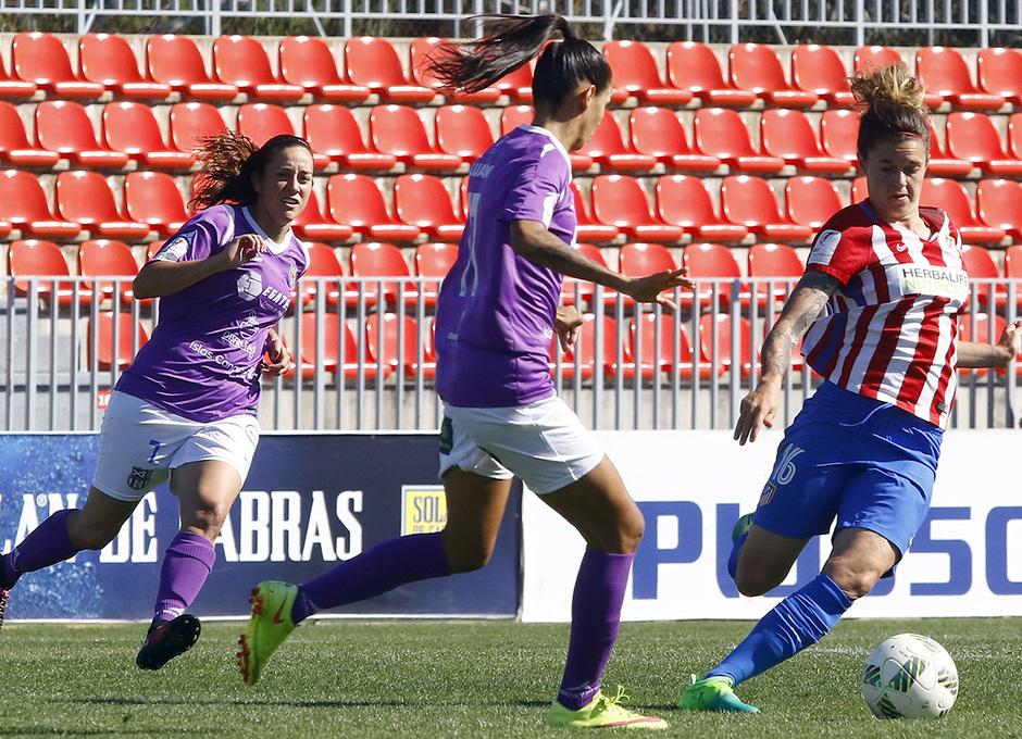 Temp. 16/17 | Atlético de Madrid Femenino - Granadilla | Mapi