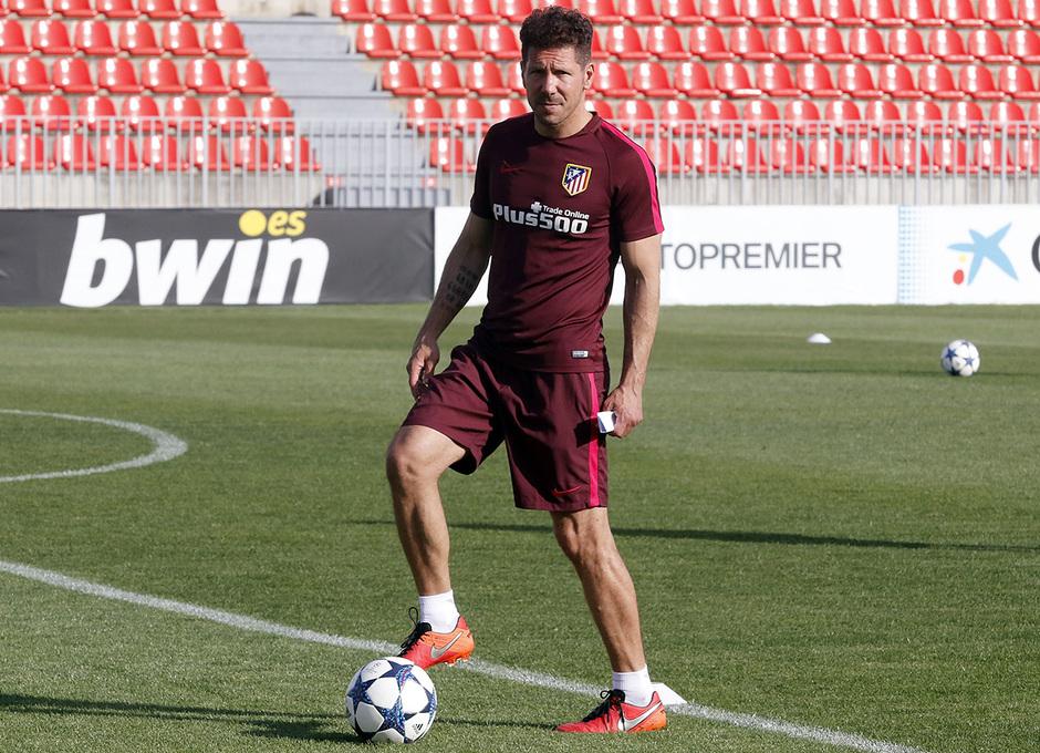 Temporada 16/17 | 08/05/2017 | Entrenamiento en la Ciudad Deportiva Wanda | Simeone