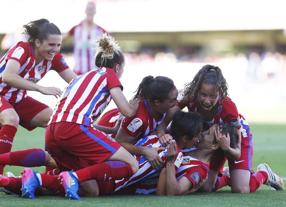 Liga Iberdrola | FC Barcelona - Atlético de Madrid Femenino | Celebración