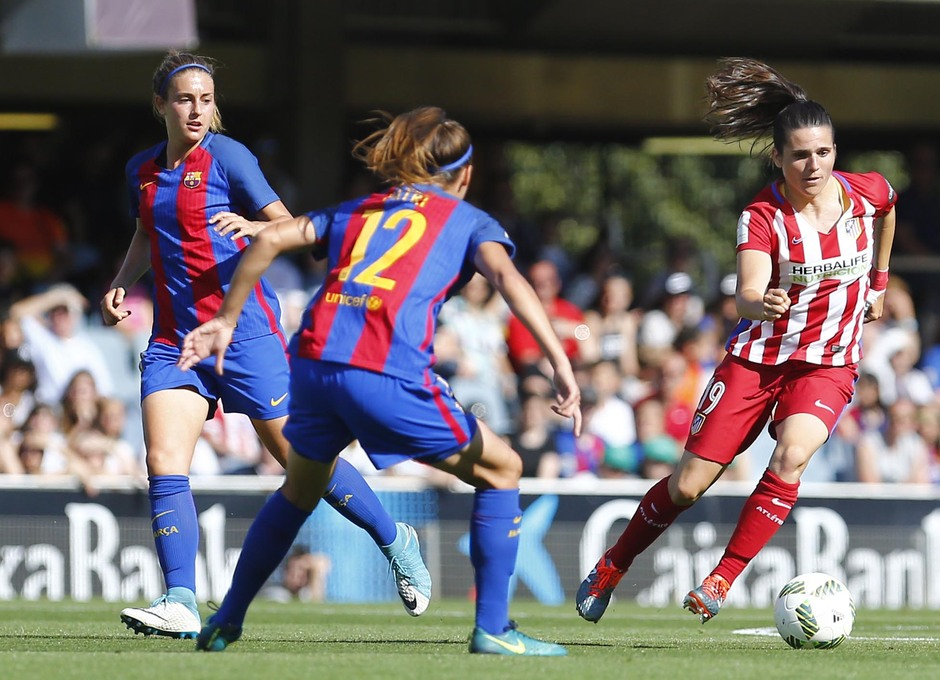 Liga Iberdrola | FC Barcelona - Atlético de Madrid Femenino | Pereira