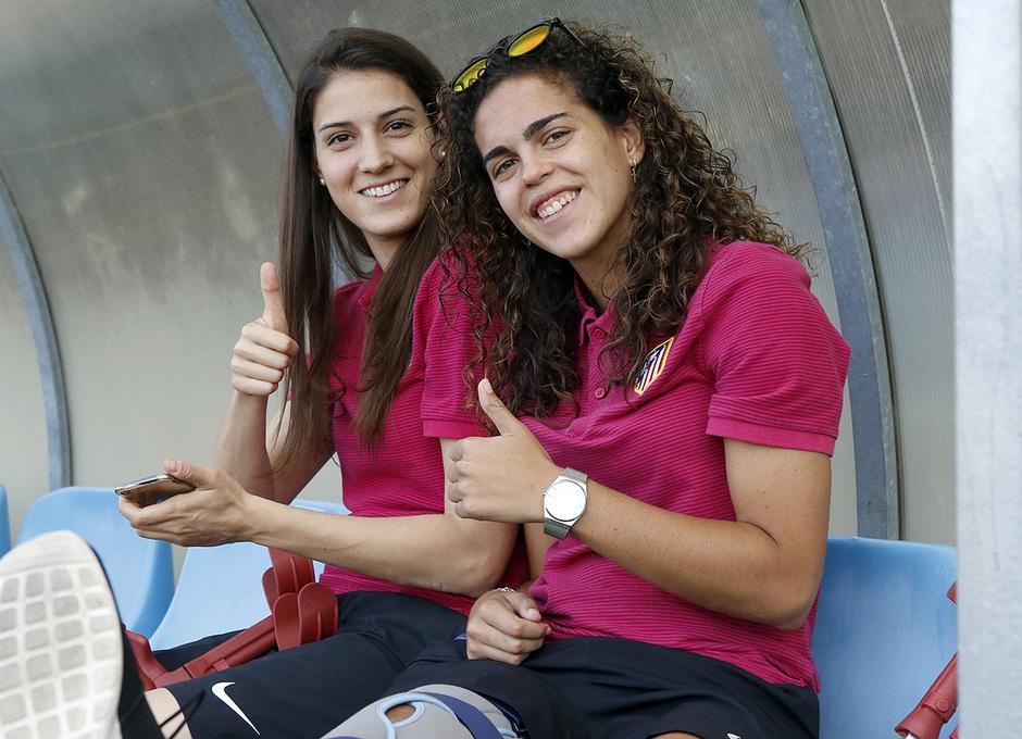 Temp. 2016/2017. FC Barcelona-Atlético de Madrid Femenino. La otra mirada