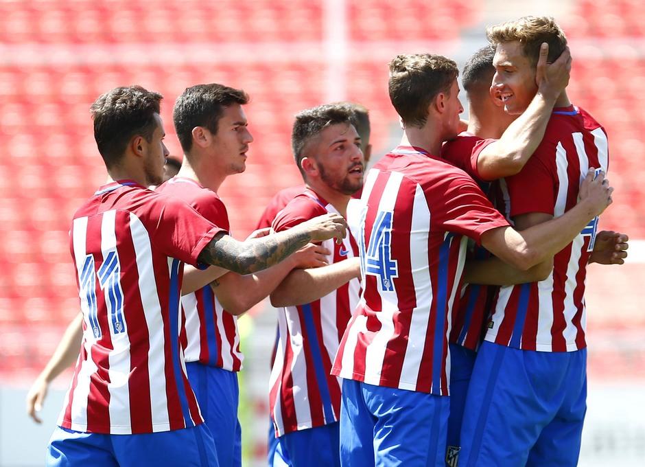 Temp. 2016/2017. Atlético de Madrid B - Alcobendas-Levitt | Celebración