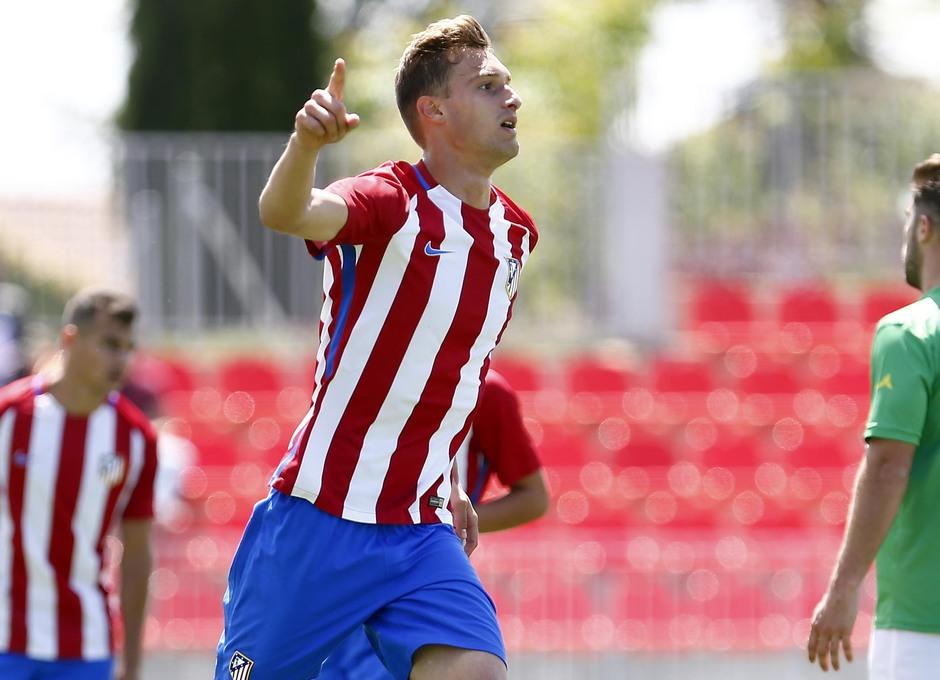 Temp. 2016/2017. Atlético de Madrid B - Alcobendas-Levitt | Álex García