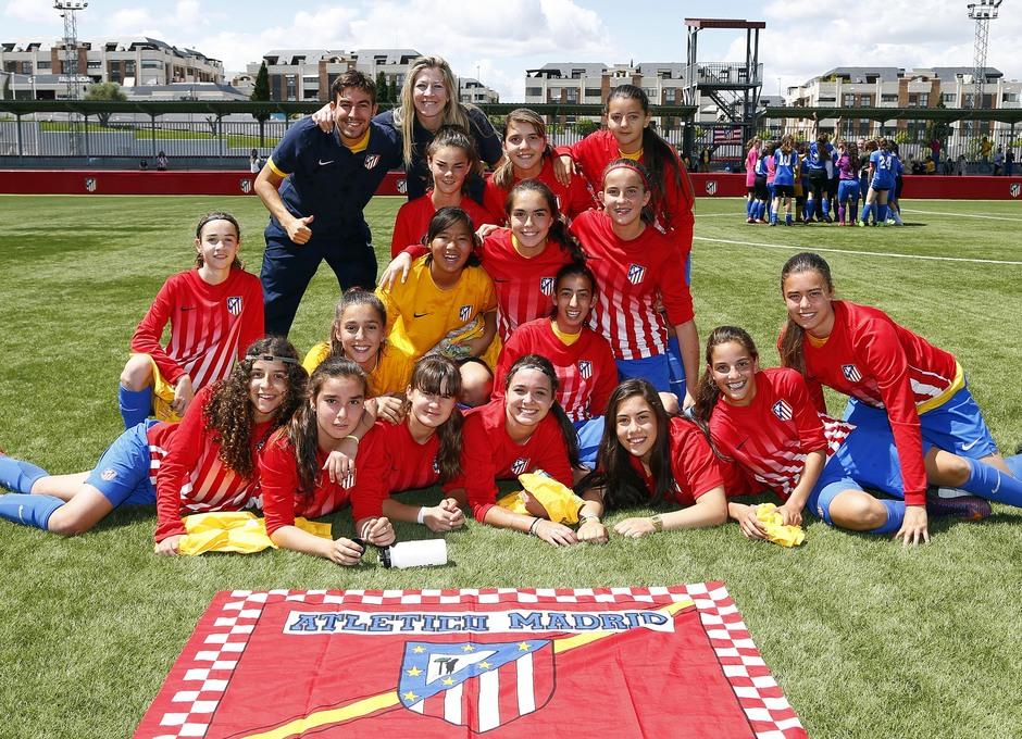 Temp. 2016/2017. Juvenil D Femenino campeón de Liga