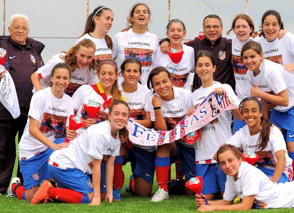 Temporada 2012-2013. El Féminas D se proclama campeón sin perder ningún partido