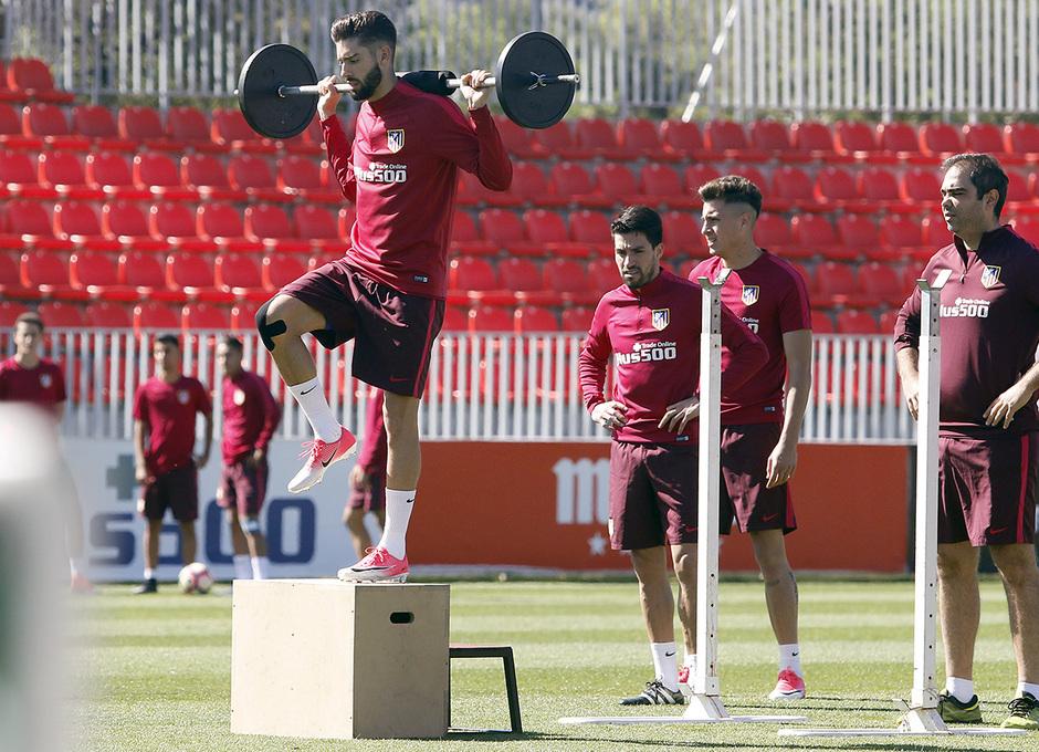 Temporada 16/17 | 19/05/2017 | Entrenamiento en la Ciudad Deportiva Wanda | Carrasco
