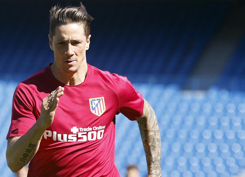 Temporada 16/17 | 20/05/2017 | Entrenamiento en el Vicente Calderón | Fernando Torres