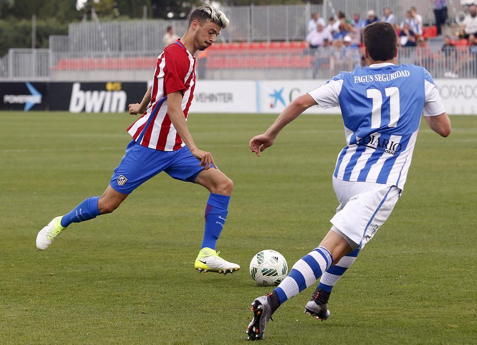 Temp. 16/17 | Atlético de Madrid B - Gimnástica | Cristian Rodríguez