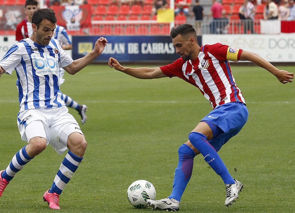 Temp. 16/17 | Atlético de Madrid B - Gimnástica | Rafa Muñoz