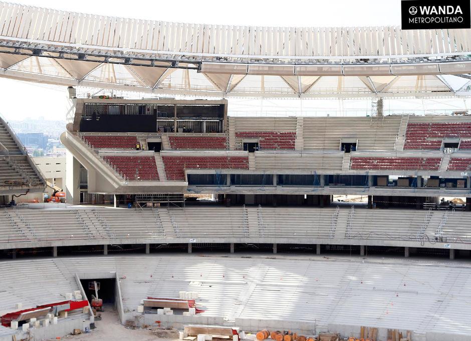 Wanda Metropolitano. 1 de junio de 2017.