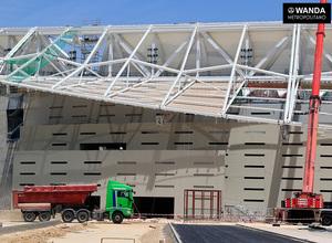 Temp. 16/17   Wanda Metropolitano. Avances obras. 9/06/2017