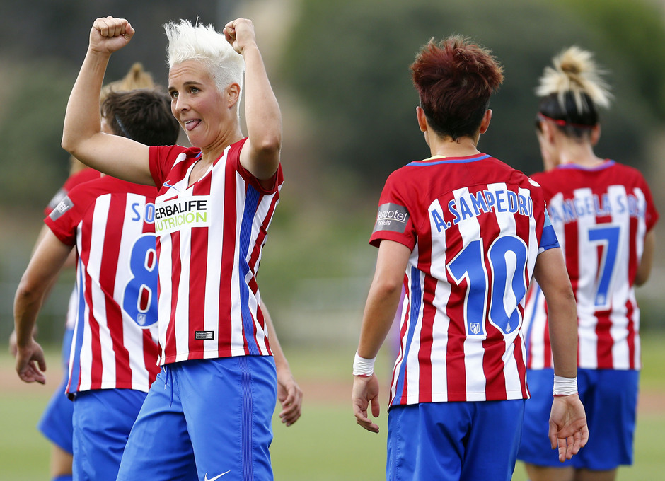 Temporada 2016-17.Copa de la Reina. Atlético de MAdrid - Granadilla. Priscila Borja