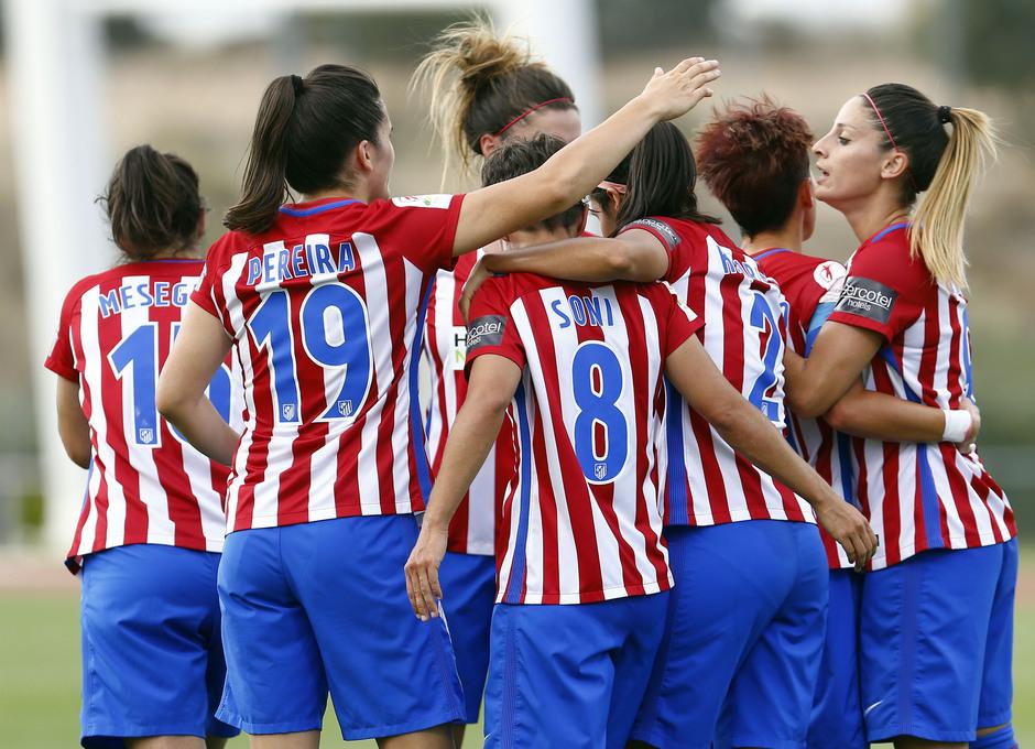 Temporada 2016-17.Copa de la Reina. Atlético de MAdrid - Granadilla.