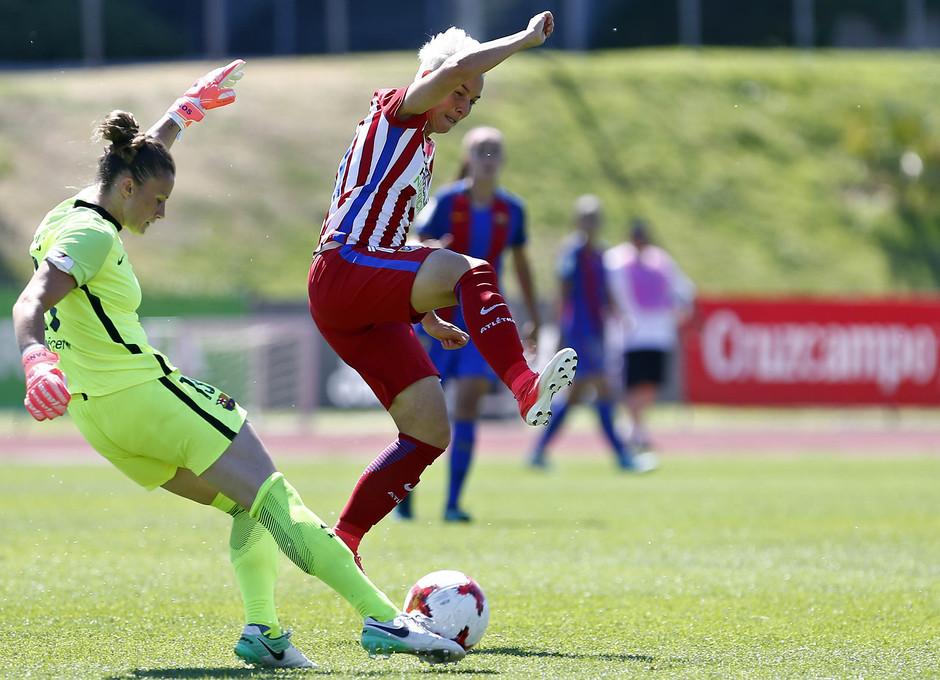 Temporada 2016-17.Copa de la Reina. Atlético de Madrid - Barcelona.