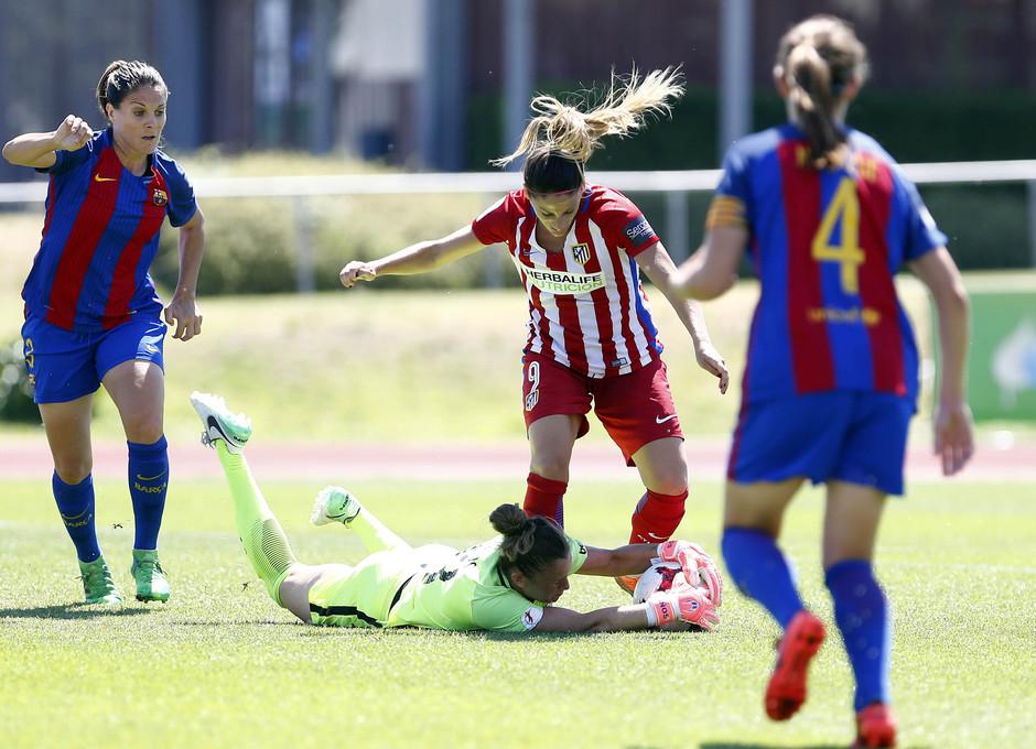 Temporada 2016-17.Copa de la Reina. Atlético de Madrid - Barcelona. Esther