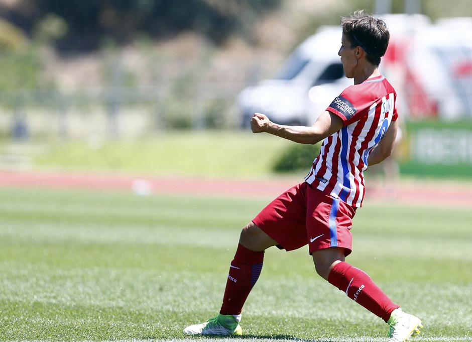 Temporada 2016-17.Copa de la Reina. Atlético de Madrid - Barcelona. Sonia