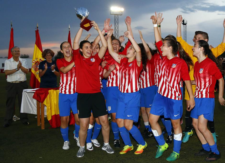 Copa de Campeones | Juvenil A Femenino campeón