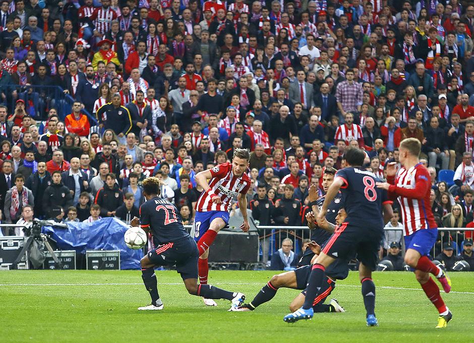 #Saúl2026 | Acto renovación Saúl. Gol al Bayern Munich