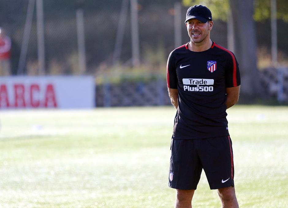 Temp. 17-18 | Entrenamiento en la Ciudad Deportiva Wanda. 8/7/2017. Simeone