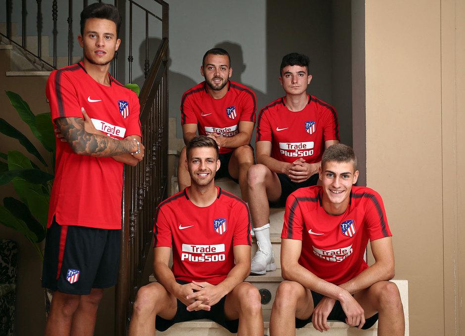 Juan Moreno, Keidi, Rubén Fernández, Sergi y Conde son los canteranos que están haciendo la pretemporada con el primer equipo